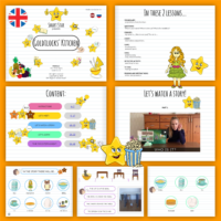 "Episode No.11: ""GOLDILOCKS' KITCHEN"" (set of 2 e-lessons)"
